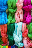 Pezenas (France): colorful foulards