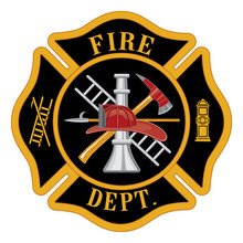 Krzyż maltański Fire Department