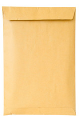 Brown A4 document envelope