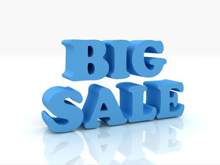 3d render of Big Sale Word