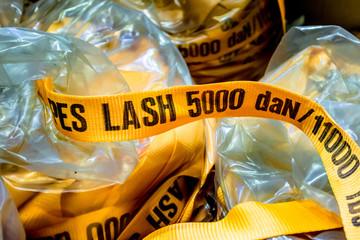 Lashing Straps in bags
