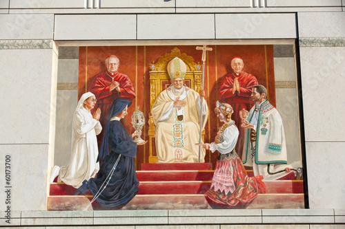 Zdjęcia na płótnie, fototapety, obrazy : Cracow , Lagiewniki - The centre of Pope John Paul II.