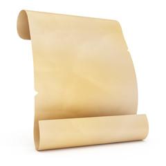 blank old manuscript