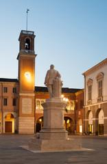 Rovigo - Piazza Vittorio Emanuele di sera