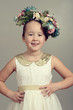 little girl fashion model