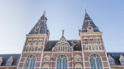 Amtserdam national museum exterior