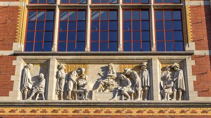 Amtserdam national museum exterior detail