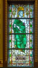 Platfo in stained glass