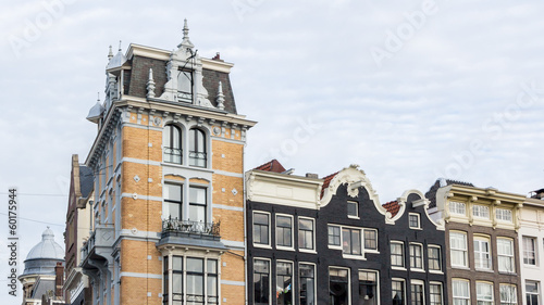 Dutch architecture in Amsterdam