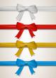 A set of bows