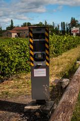 Radar dans les vignes