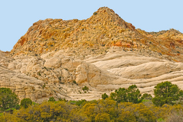 Sandstone Peaks in the Desert