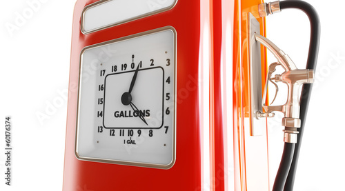 vintage gasoline fuel pump