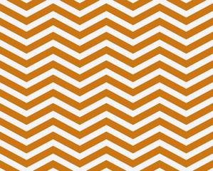 Dark Orange and White Zigzag Textured Fabric Background
