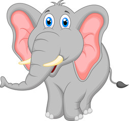 Cute elephant cartoon