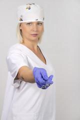 Enfermera de hospital,  Nurse of hospital
