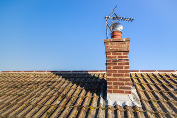 Roof and Chimney