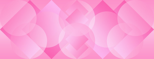 Pink Panoramic Background Wallpaper