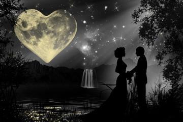 Valentine's day romantic atmosphere