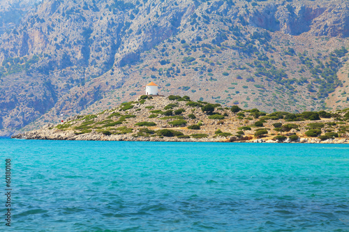 Simi island and windmills