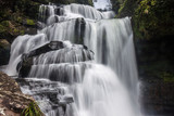 Tat Tha Jet waterfall on Bolaven plateau in Laos