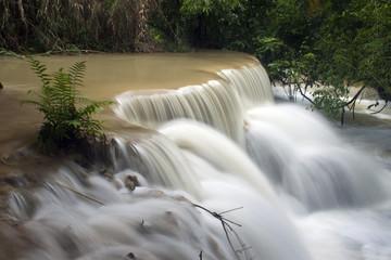 Tat Kuang Si waterfall in Laos