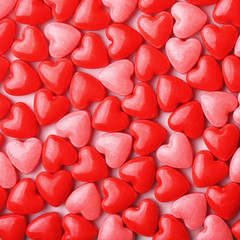Heart Candy background.  Valentine's Day