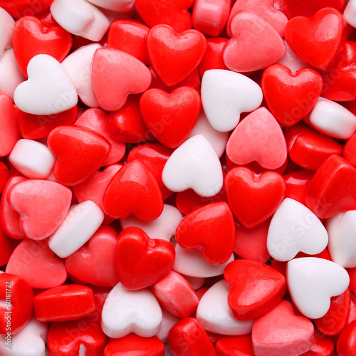 Heart Candy background. Valentine's Day