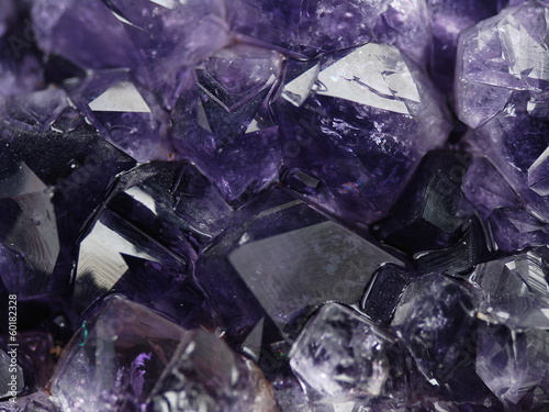 canvas print picture Amethyst