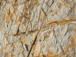 Surface of brown stone