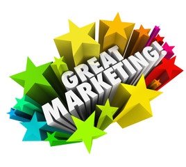 Great Marketing Words Business Advertising Promotion