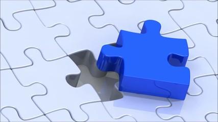 Das richtige Puzzleteil