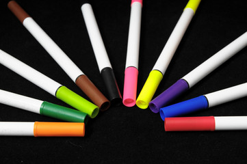 Colored Ink Markers