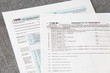 U.S. income tax form