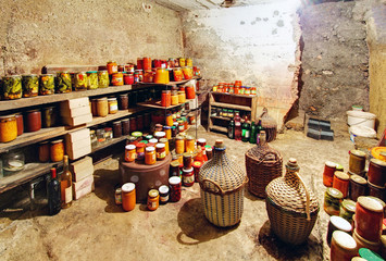 Cellar and preserves