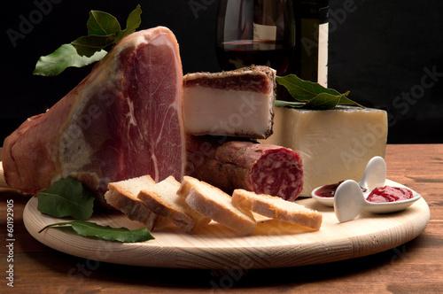 Affettati e formaggio
