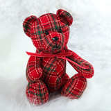 one checkered teddy bears
