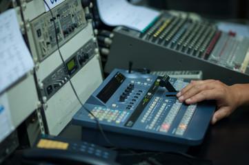Vision mixing panel