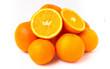 canvas print picture - oranges