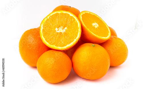 canvas print picture oranges