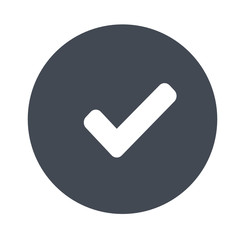 Check Mark - gray icons