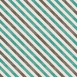 seamless retro pattern with diagonal green