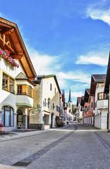 street in Garmisch-Partenkirchen, Germany