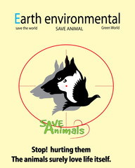 Save the world- save animal and no hunt