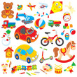 colorful children's toys - 60196705