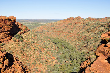 Kings canyon, Northern Territory (Australia)