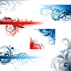 Ornate Swirl Design Set