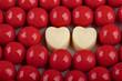 Valentine's Day background,red candies