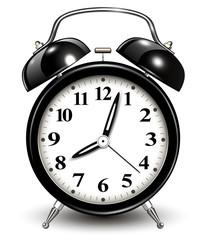 Alarm clock, black
