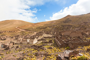 Ancient village of San Antonio de Lipez, Bolivia